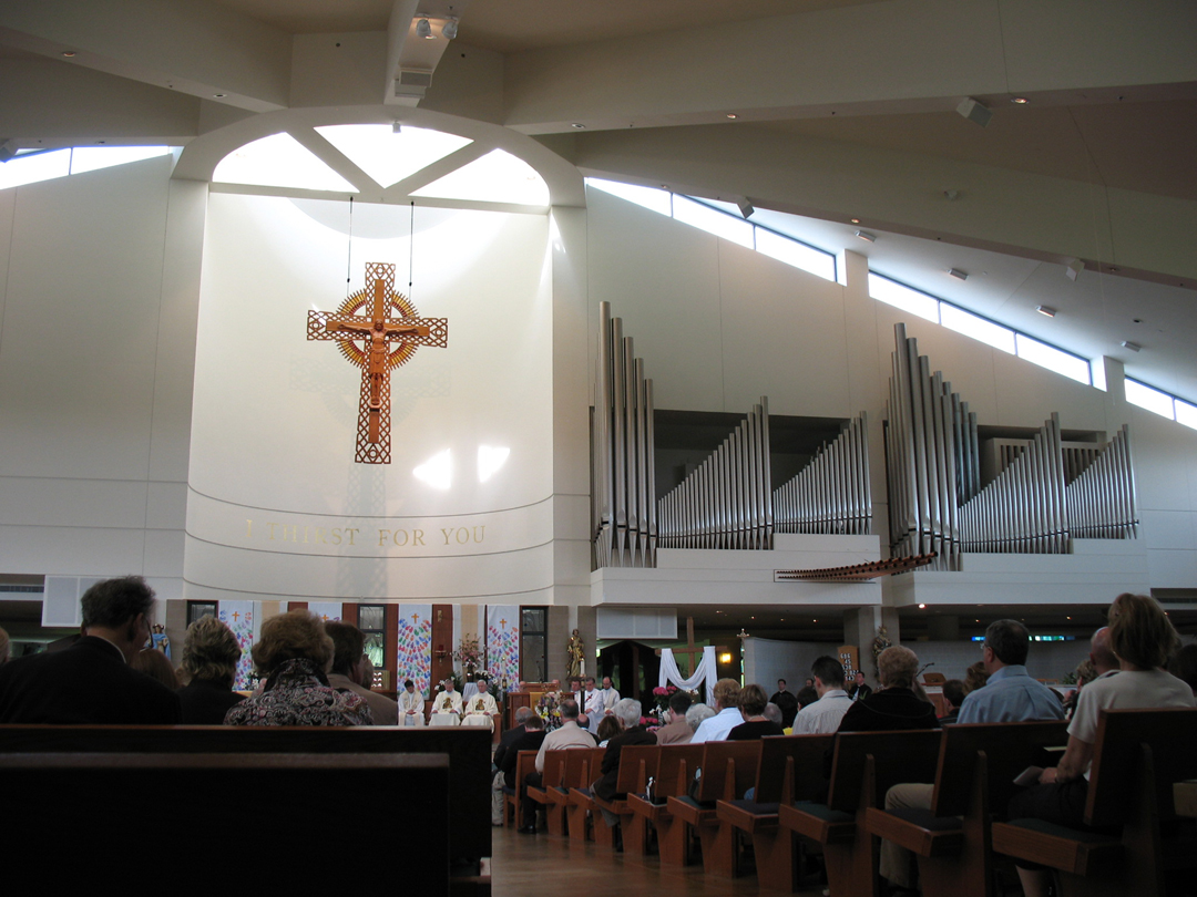 Pictures Of Bob Schikora S First Mass At Our Lady Of Good